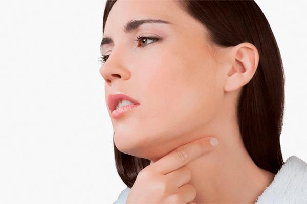 Полоскание горла перекисью водорода