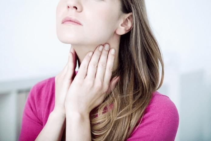 Болезненное горло